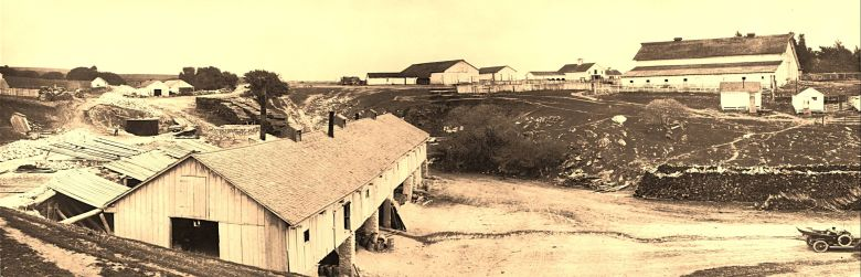 Limeworks in 1910