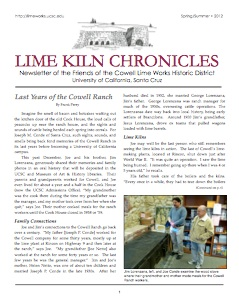 The Lime Kiln Chronicles
