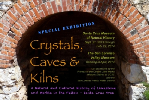 Crystals, Caves and Kilns Exhibit